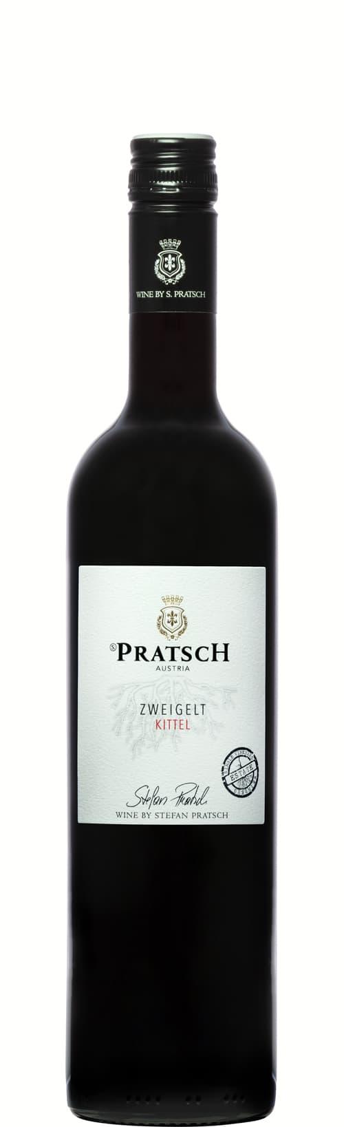 Weinflasche Rotwein Zweigelt - by S. Pratsch