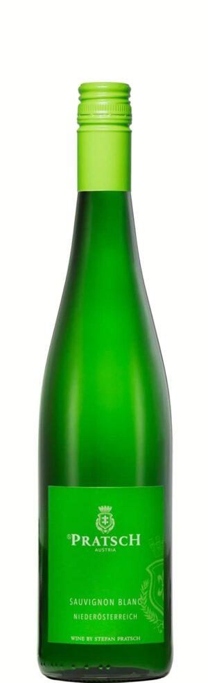 Weinflasche Weißwein Sauvignon Blanc - by S. Pratsch