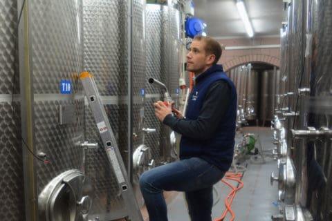 Weinkeller Weintank Stefan Pratsch