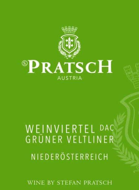 Ettiket Weißwein Grüner Veltliner - by S. Pratsch