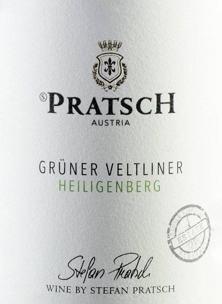 Ettiket Weißwein Grüner Veltliner Lagenwein - by Weingut Pratsch