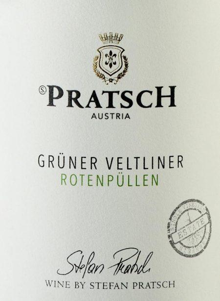 Ettiket Weißwein Grüner Veltliner - by Weingut Pratsch