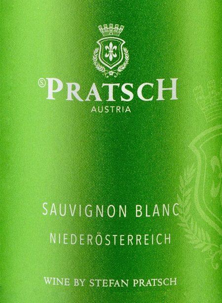 Ettiket Weißwein Saubignon Blanc Niederösterreich- by Weingut Pratsch