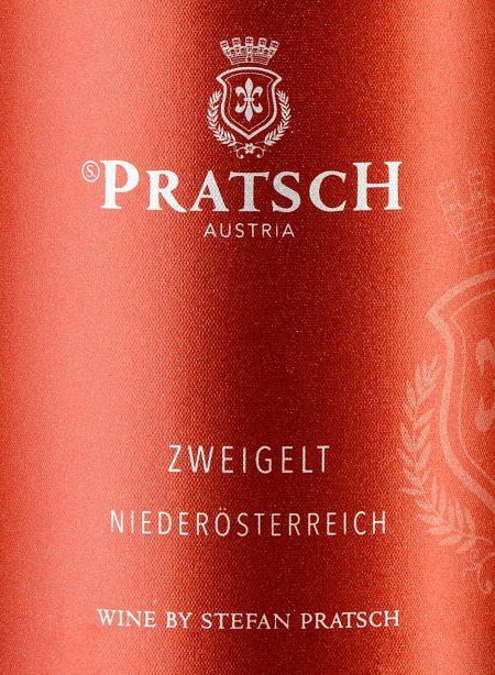 Ettiket Rotwein Zweigelt - by Weingut Pratsch