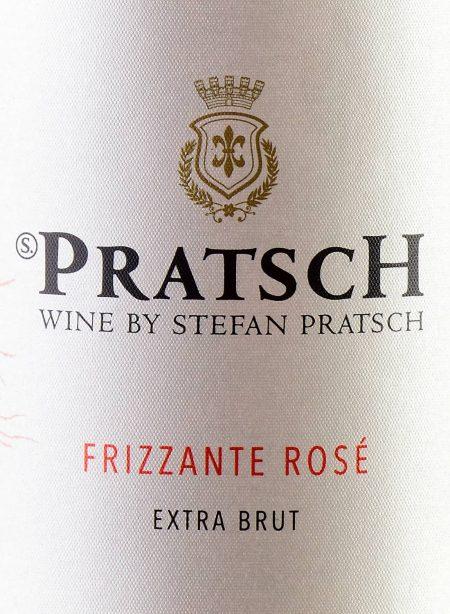 Ettiket Frizzante Rosé exrta Brut WINE BY S.PRATSCH - Weingut Pratsch